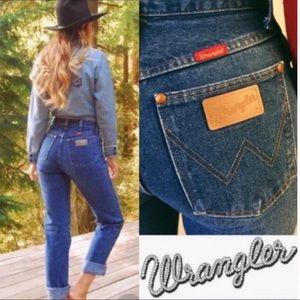 Vintage Wrangler High Rise Classic W Pocket Jeans